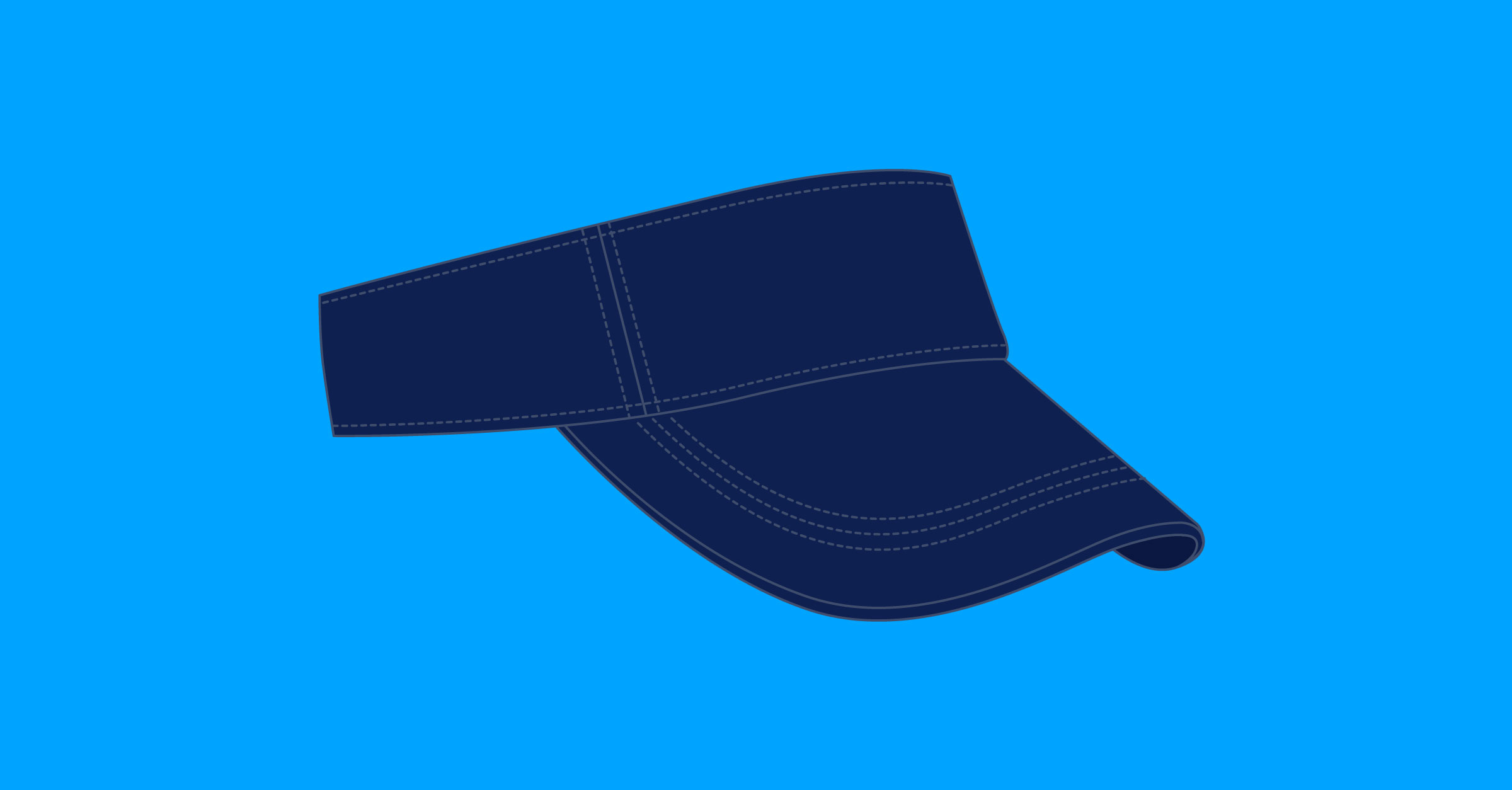 Illustration sun visor
